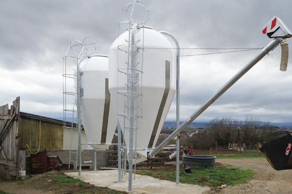 impianto silos monolitico