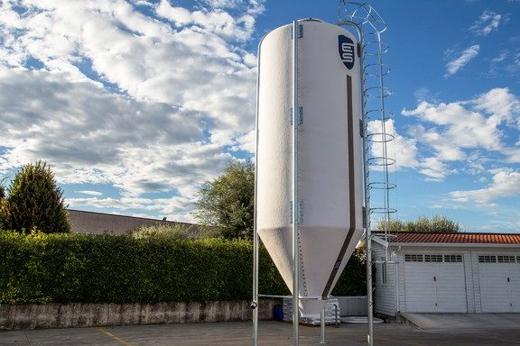 Impianto silos verticali Slick