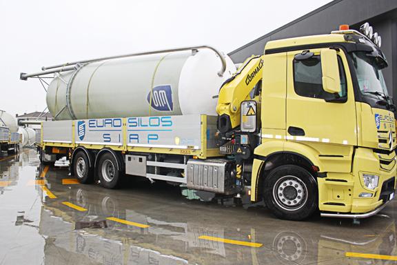 trasporto silos millennium europeo